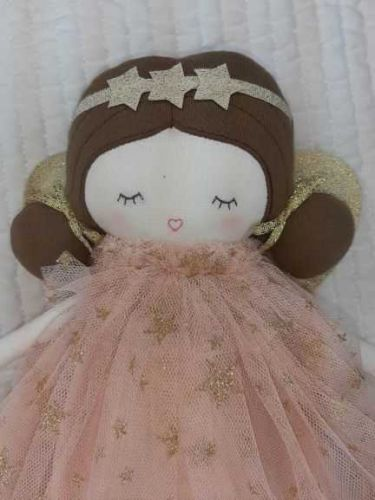 Alimrose Celest Fairy with Gold Wings