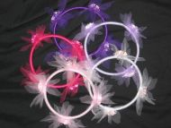 HALF PRICE SALE -Ribbon & Rosette Garland choice  of colours