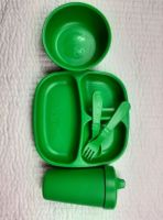 Green Replay Set With Bowl& Sippee Cup