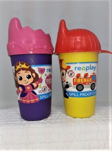 Replay Fireman or Princess Spill Proof Cup
