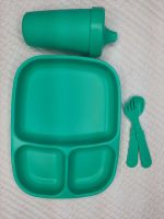 Replay Set Aqua Large Divided plate