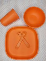 Replay Orange Set - Large plate and tumbler + more