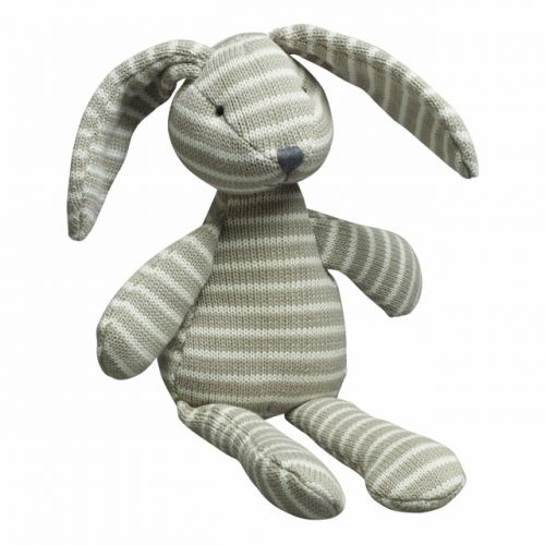 Knitted Stripe Bunny