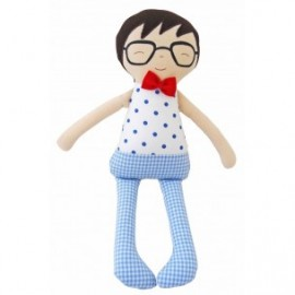 Ted Toy with Rattle by Alimrose Designs