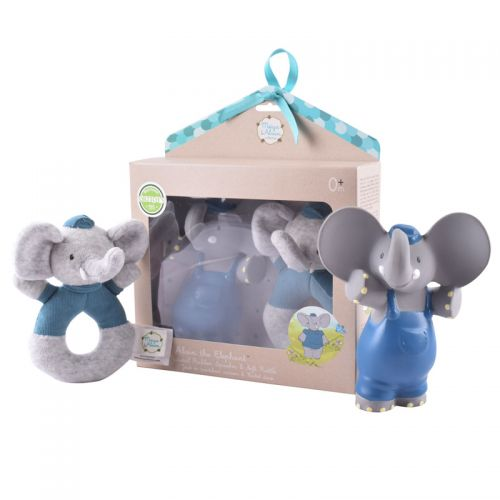 Alvin Gift Set  - Rubber Squeaker and Soft Rattle