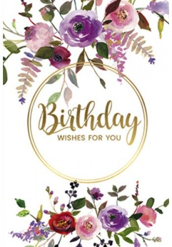 Card - Birthday Wishes for You
