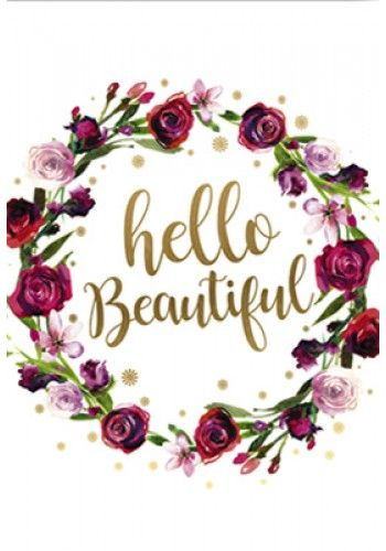 Card - Hello Beautiful