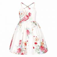 Rambling Christmas Rose Sundress