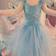 Frozen Inspired Gown by Fairy Frocks