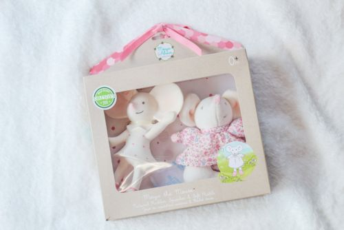 Meiya Gift Set - Rubber Squeaker and Soft Rattle