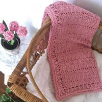 Baby Ripple Blanket Blush SALE