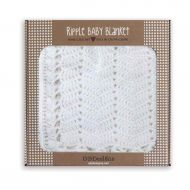 Baby Ripple Blanket - White