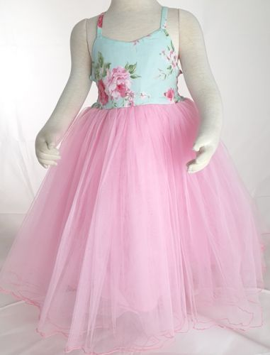 Romantic Rose Tutu Dress by Fairy Frocks