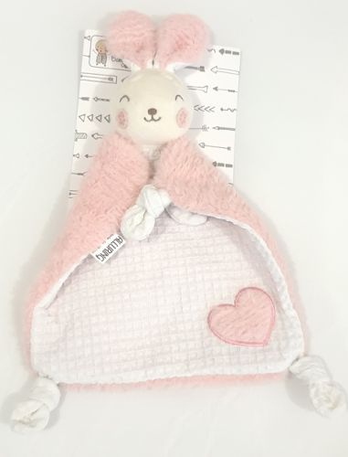 Samantha the Bunny comforter by Alluring Linen