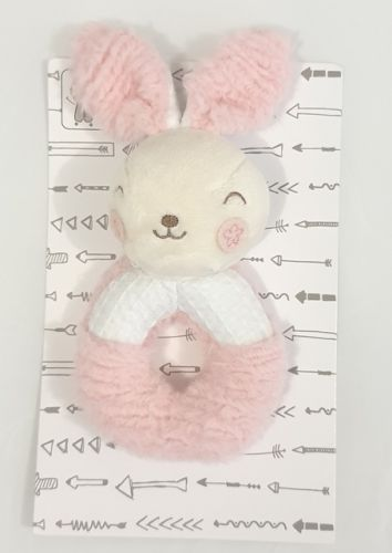 Samantha Bunny Grab Rattle by Alluring Linen